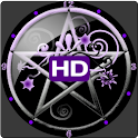 Pentacle Clock Widget HD
