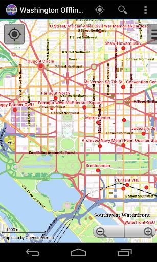 Washington City Map Lite