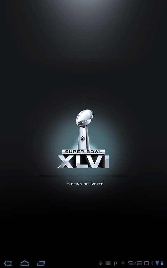 Super Bowl Commemorative App - screenshot