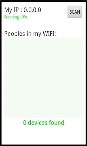 WIFI的用户侦探全