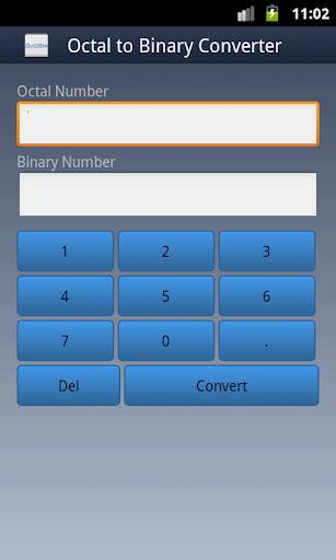 Octal To Binary Converter