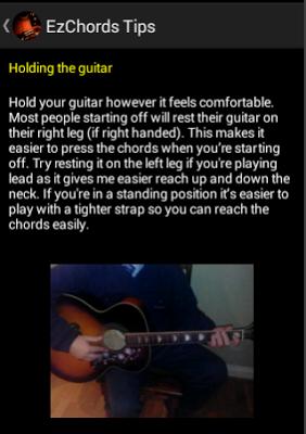 ezChords - Learn Guitar - screenshot