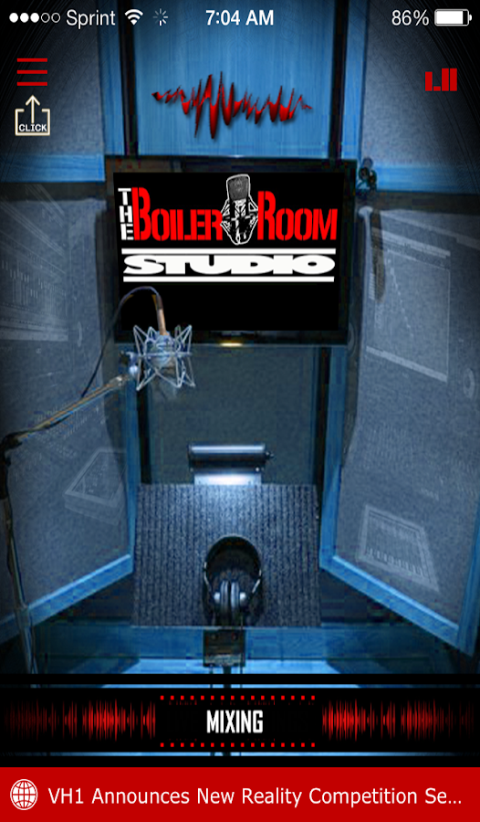Boiler Room Android App