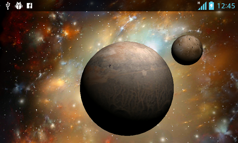 3D Space Live Wallpaper HD - Applications Android sur Google Play