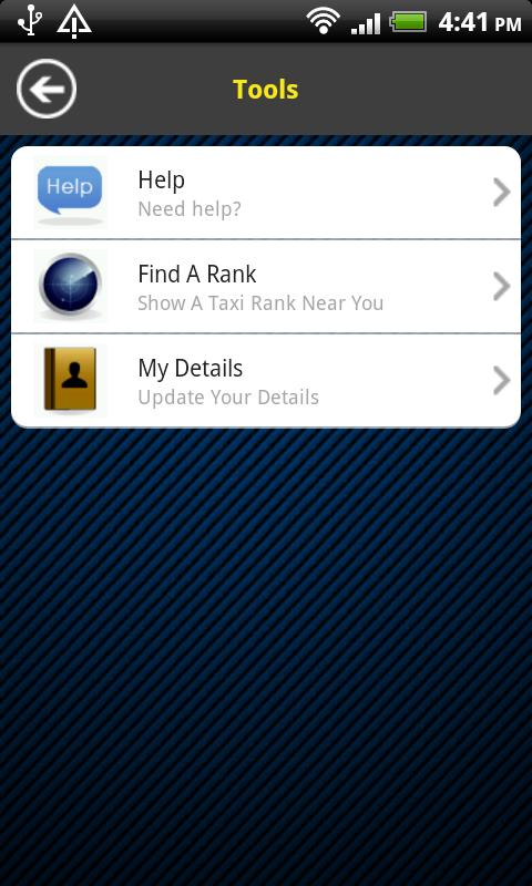 Silver service app