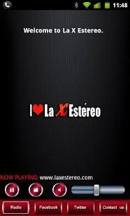 La X Estereo 100% Salsa- screenshot thumbnail