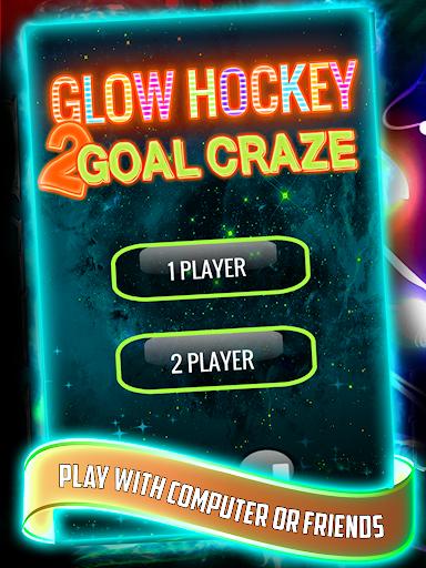 【免費休閒App】Glow Hockey 2 Goal Craze-APP點子