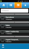 Screenshot of AT&T Enhanced PTT