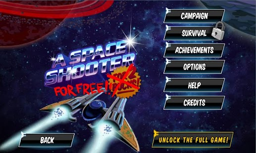A Space Shooter For Free - screenshot thumbnail