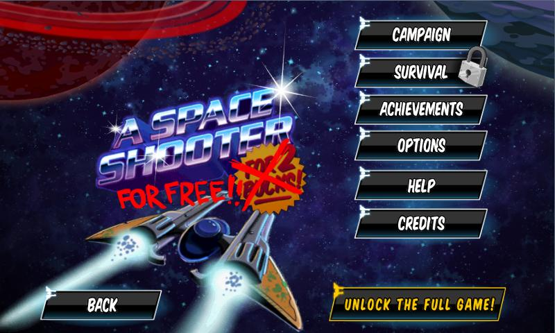 A Space Shooter For Free - screenshot