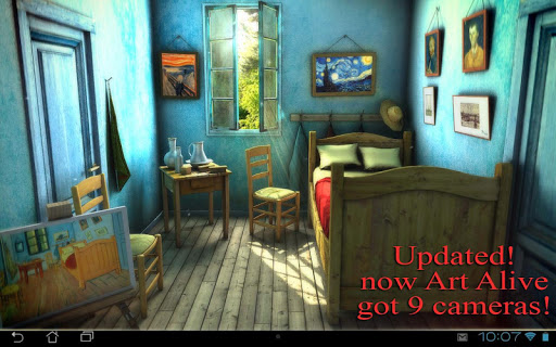 Art Alive 3D Pro lwp Додатки для Android screenshot