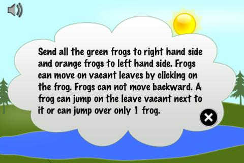 Frog Puzzle - screenshot