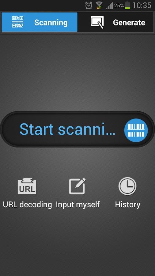 QR&Barcode Scanner- screenshot