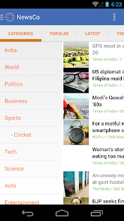 NewsCo: News Summaries - screenshot thumbnail