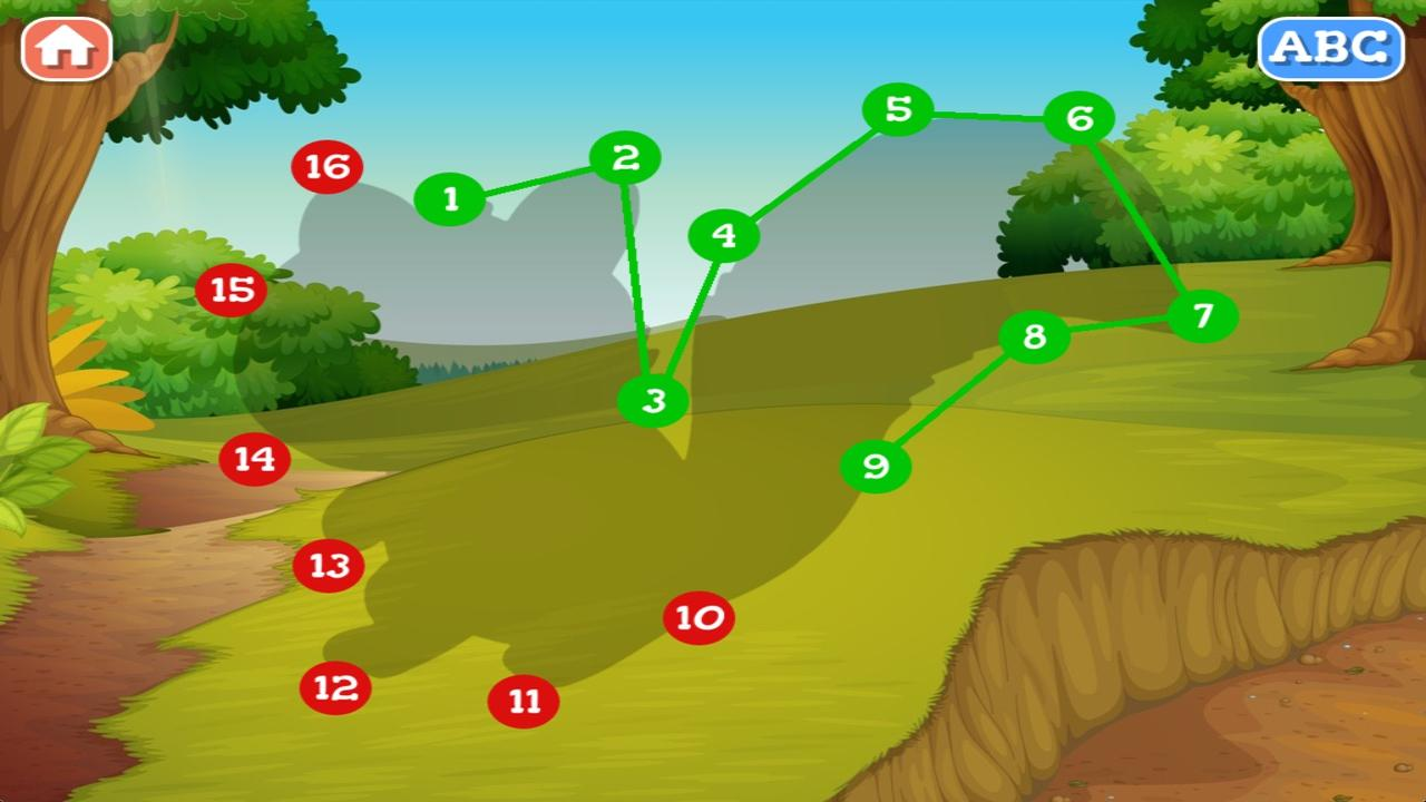forest animals dot to dot android apps on google play
