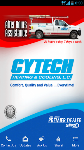 Cytech Heating Cooling