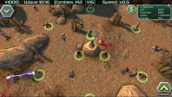 Zombie Defense(Mod Money)