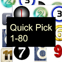 Quick Pick 1-80 logo