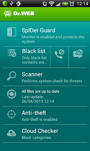 dr.web anti-virus android 8