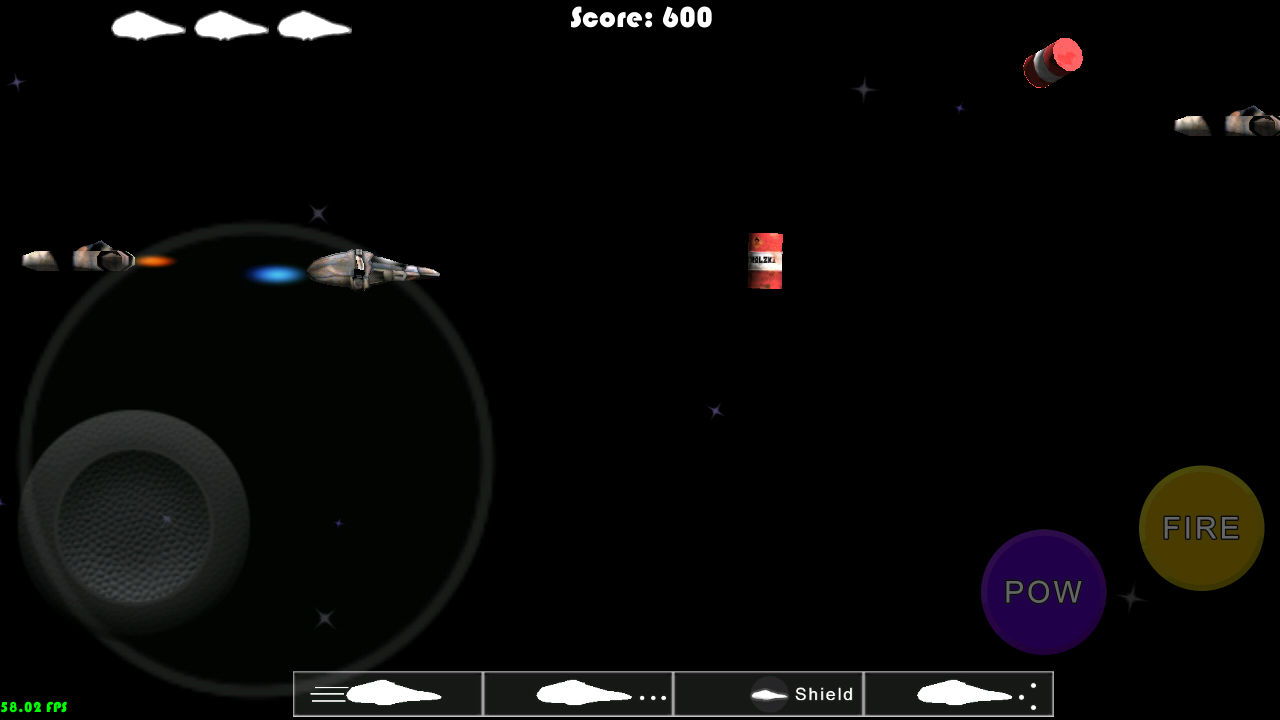 Battle In Space- screenshot