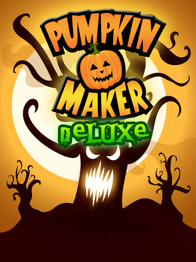 Halloween Pumpkin Maker Deluxe - screenshot