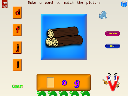 ABC Phonics Word Family Plus F- screenshot thumbnail