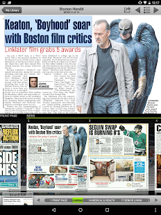 Boston Herald e-Edition- screenshot thumbnail