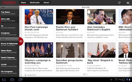 POLITICO For Tablet Screenshot 9