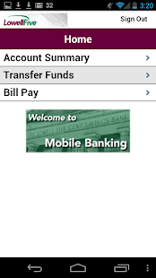 The Lowell Five Mobile Banking- screenshot thumbnail