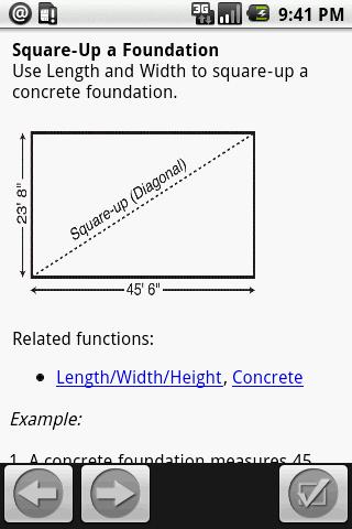 ConcreteCalc Pro Calculator- screenshot