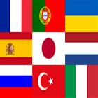 選擇語言和區域設置 icon