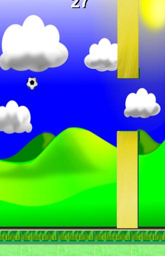 Flappy Fussball Soccer Screenshot