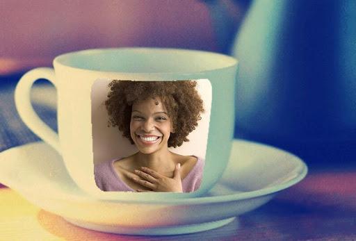 咖啡杯相框