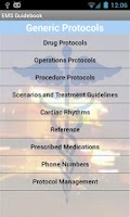 Screenshot of EMS Guidebook