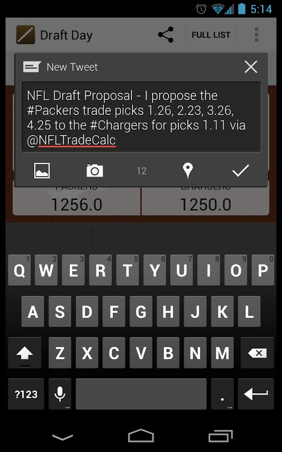 Draft Day- screenshot