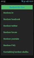Screenshot of Bonbon info