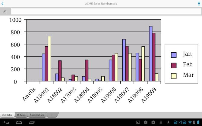 Docs To Go™ Premium Key Android 14