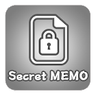 Secret MEMO (ロック、メモ、ウィジェット) icon