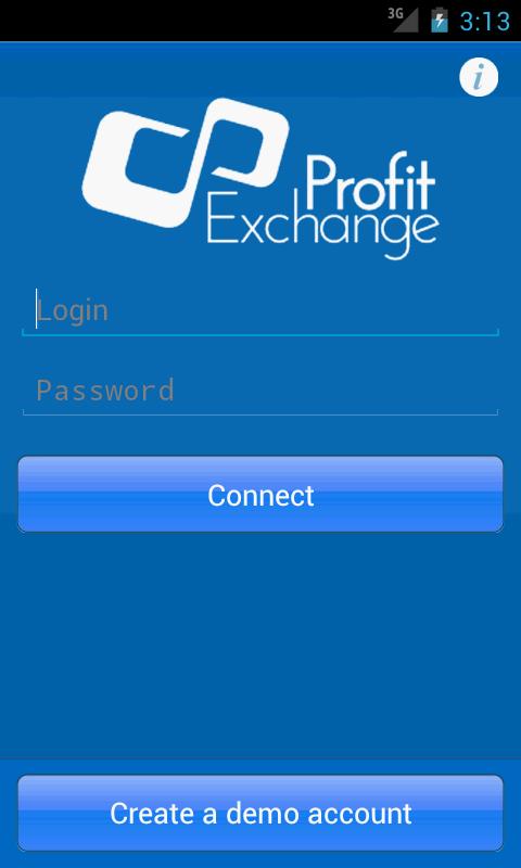 Profit-Exchange - screenshot