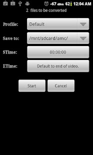 Video Converter Android - screenshot thumbnail