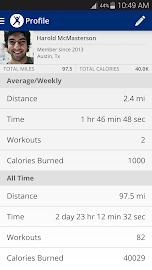 Map My Fitness Workout Trainer Screenshot 4