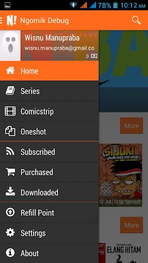 NGOMIK - Baca Komik Indonesia 1.2.5 screenshots 2