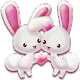 Love Rabbit Theme - Kawaii Cute Bunny Comic Theme