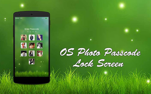 OS Passcode Photo Lock Screen