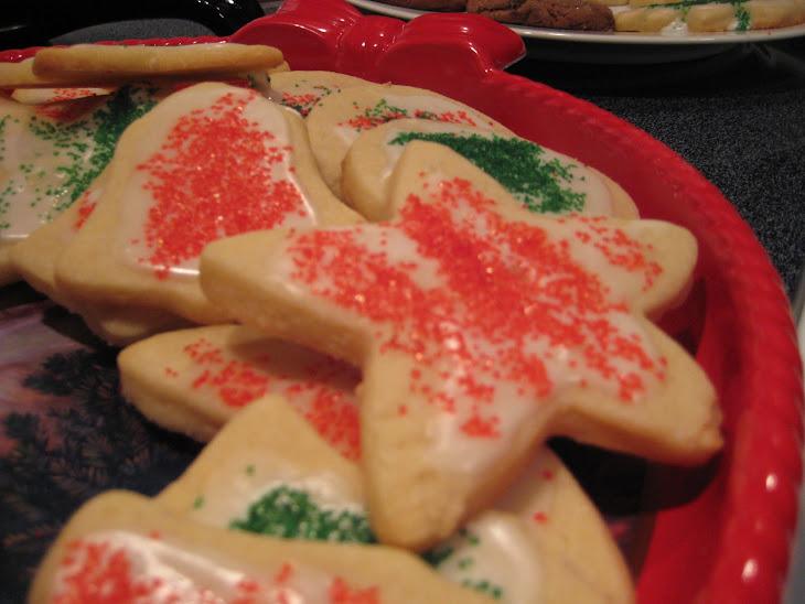 Buttery Sugar Cookies Recipe
