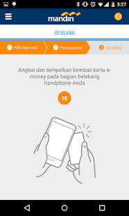 mandiri e-money isi ulang- gambar mini screenshot