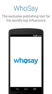 WhoSay Talent- screenshot thumbnail