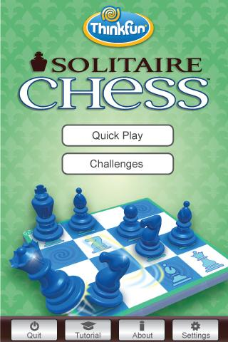 Solitaire Chess by ThinkFun - screenshot
