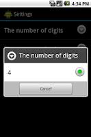 Screenshot of Guess Number Helper