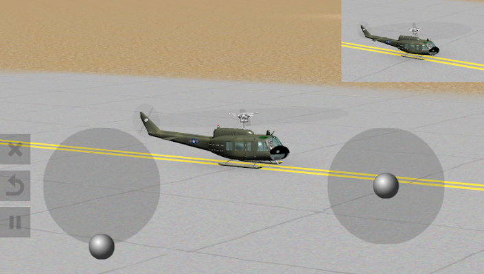 Warbirds RC Heli - screenshot